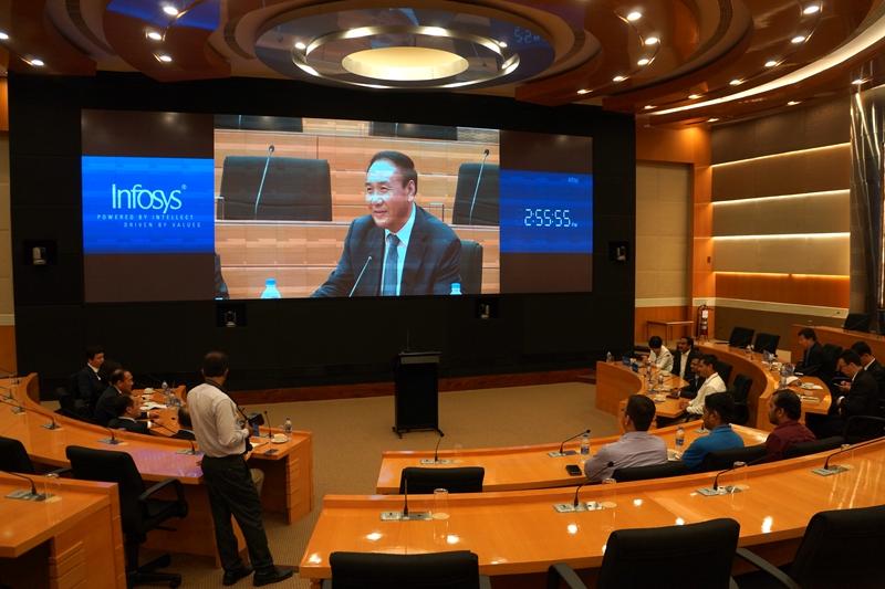 高新区代表团在印度开展经贸活动